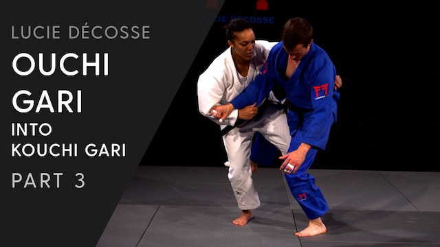 Double sided | Ouchi into Kouchi combination | Lucie Décosse