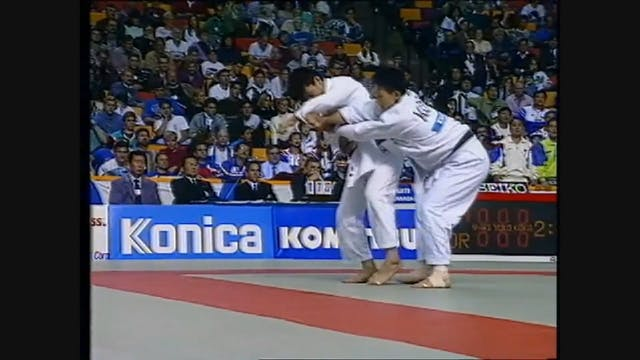 Kumi kata - Dealing w/ high grip (Ill...