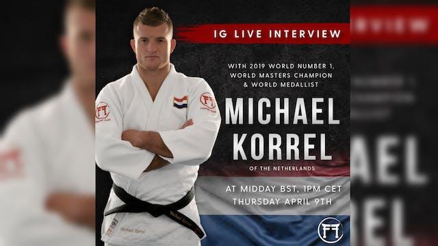 IG Live With Michael Korrel