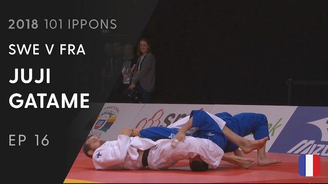 101: Juji gatame - SWE v FRA -100kg