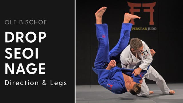 Drop Seoi nage - Direction and legs |...