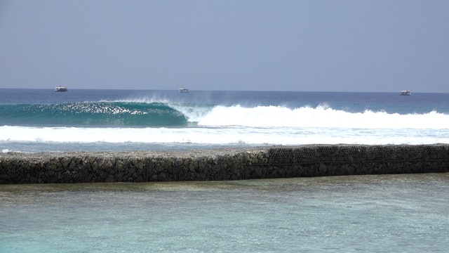Surfing Over Reef Part 1 - How To Get In & Out