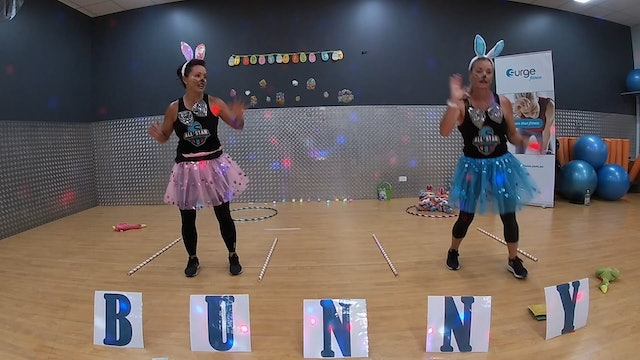 Easter Bunny Special Kids Class with Charlotte and Sonja 10/04/2020