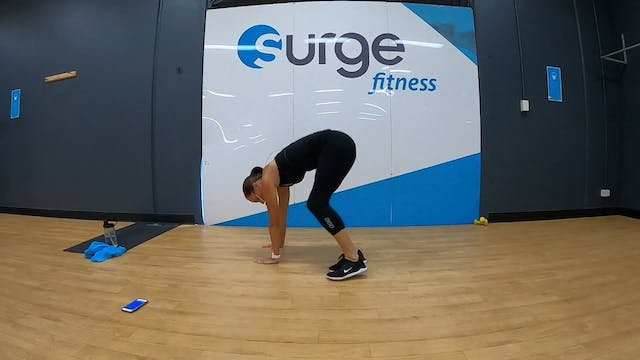 HIIT with Kat Mon 25/5 9.30am