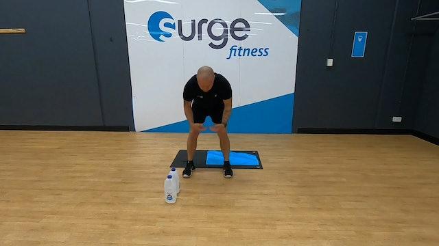 SE7EN workout using Milk Cartons with Warren 16/04 9.30am