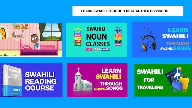SWAHILI LESSONS