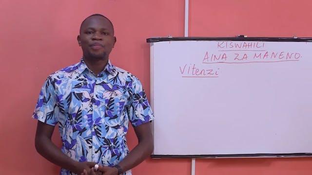Verbs in Swahili