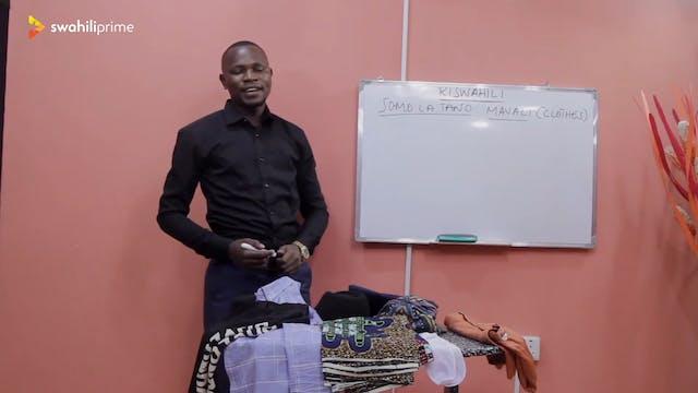 Clothes -Mavazi