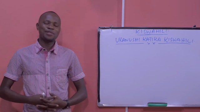Negation Words in Swahili