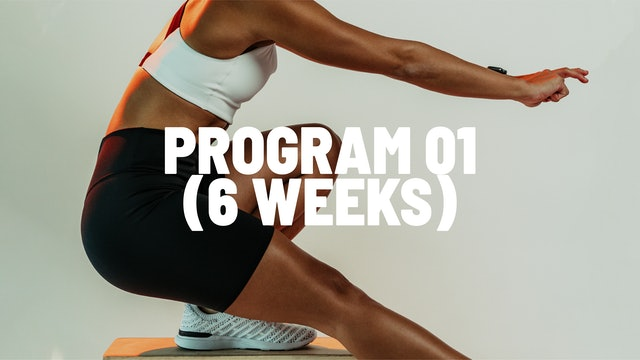 PROGRAM 01 (6 WEEKS)