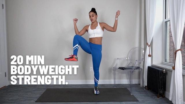 20 MIN BEGINNER BODYWEIGHT STRENGTH