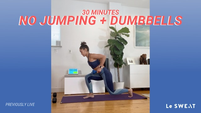 30 MIN TOTAL BODY NO JUMPING