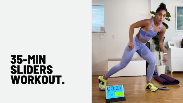 35 MIN SLIDERS WORKOUT