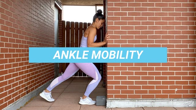 8 MIN ANKLE MOBILITY