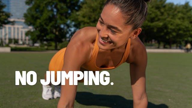 NO JUMPING