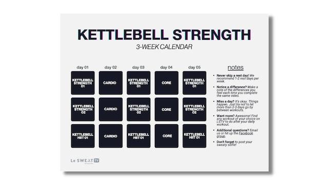KETTLEBELL STRENGTH (3 WKS)