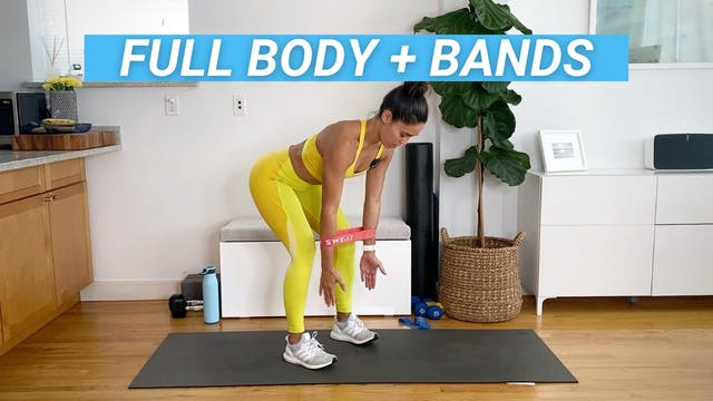 45 MIN FULL BODY + BANDS