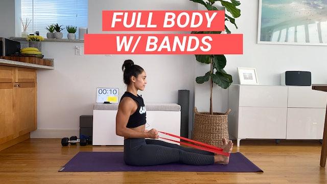 30 MIN FULL BODY W/ BANDS