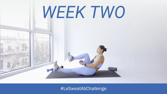 WEEK TWO Ab Challenge