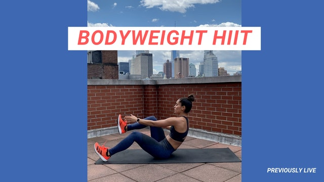 30 MIN BODYWEIGHT HIIT