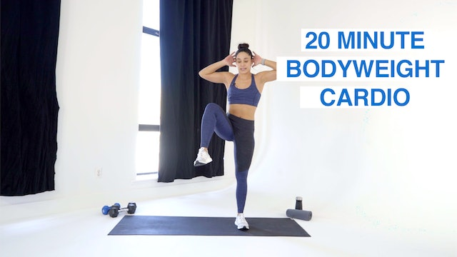 20 MIN BODYWEIGHT CARDIO