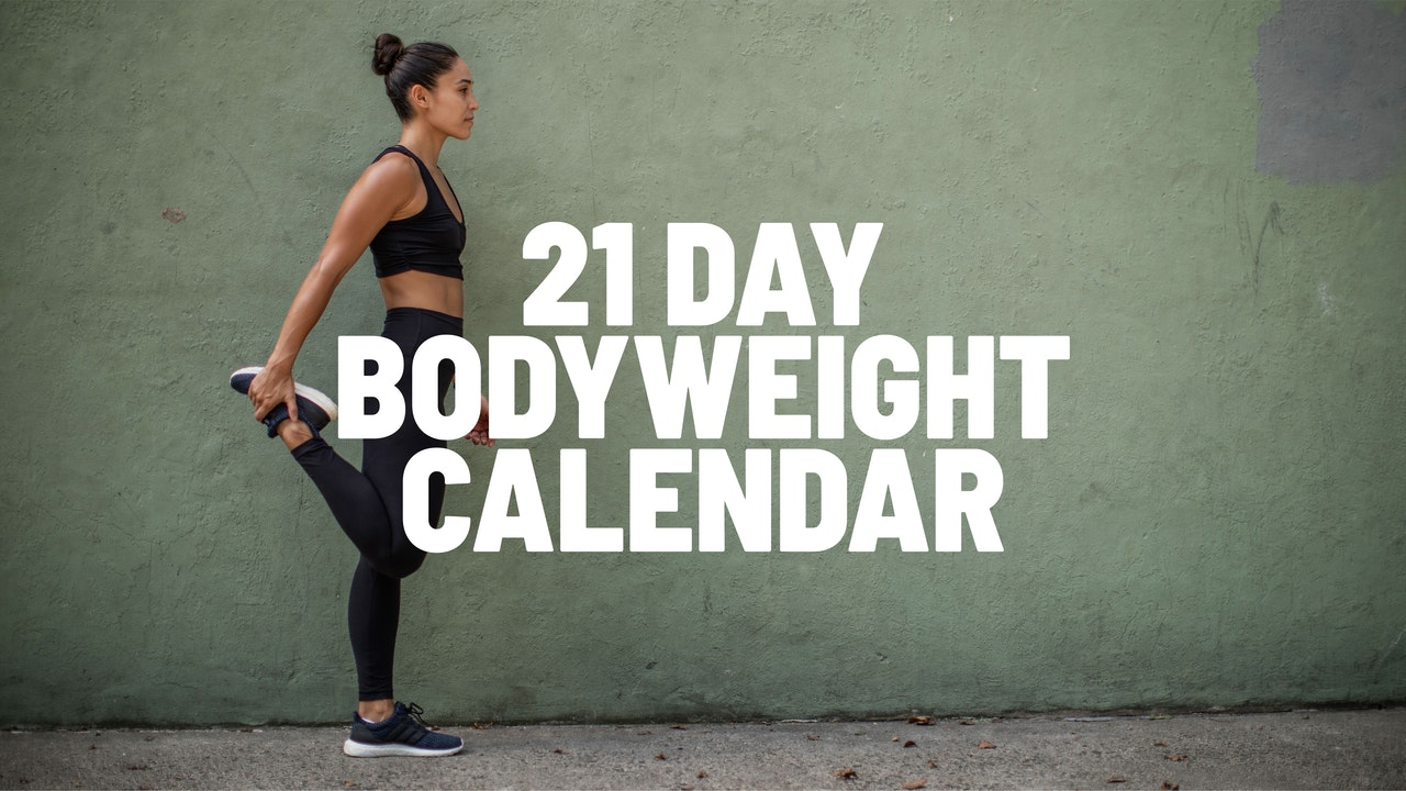 21-DAY BODYWEIGHT CALENDAR