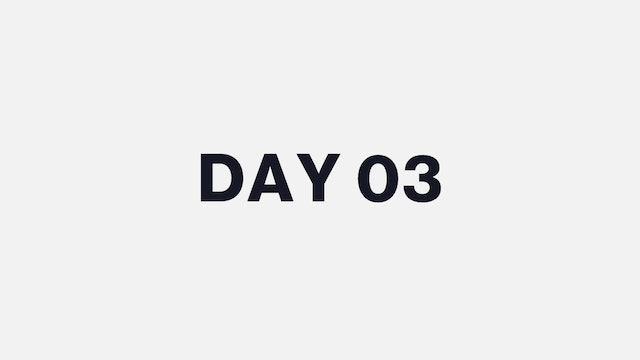 DAY 03
