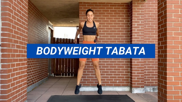 20 MIN BODYWEIGHT TABATA