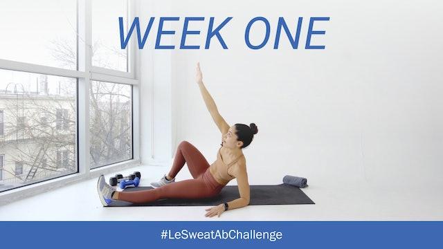 WEEK ONE Ab Challenge