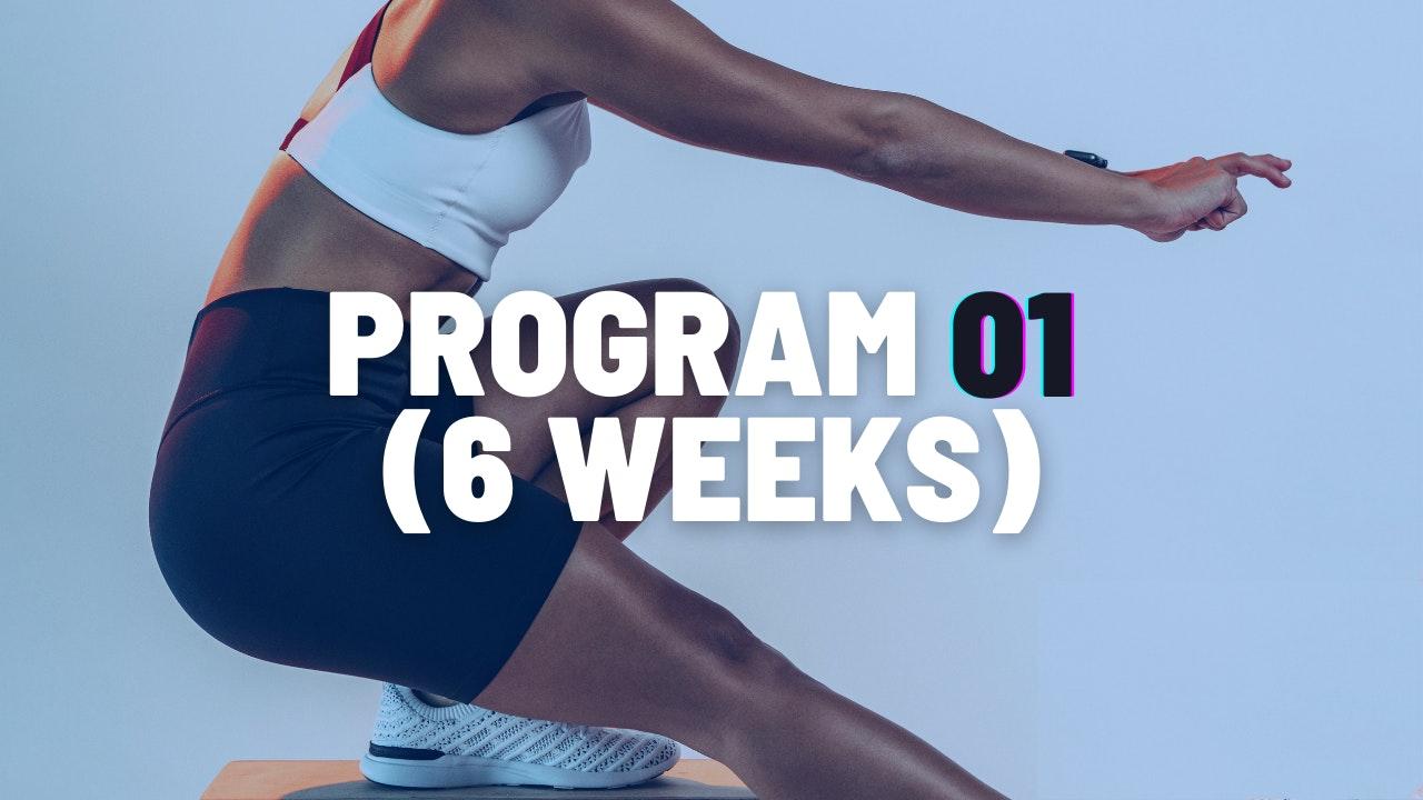 PROGRAM 01 (6 WEEKS)