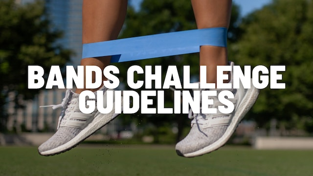 BANDS CHALLENGE GUIDELINES
