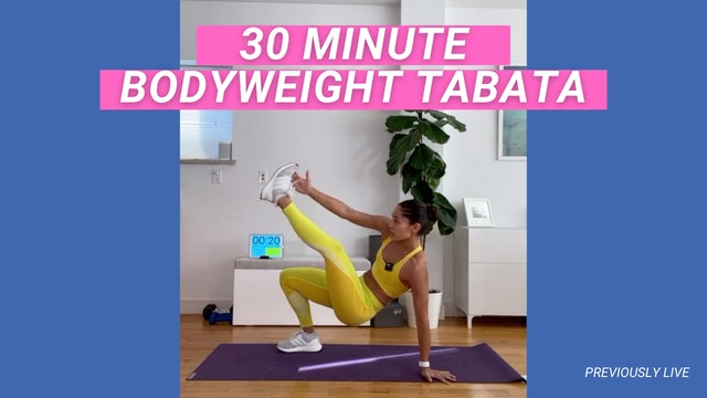 30 MIN BODYWEIGHT TABATA