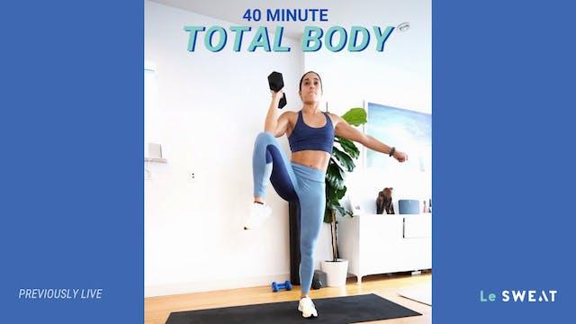 40 MIN TOTAL BODY