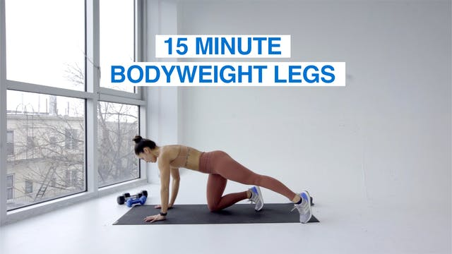 15 MIN BODYWEIGHT LEGS