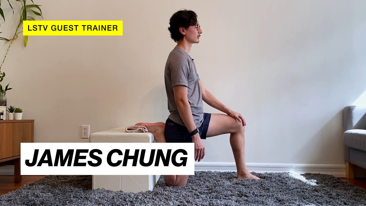 GUEST TRAINER: JAMES CHUNG