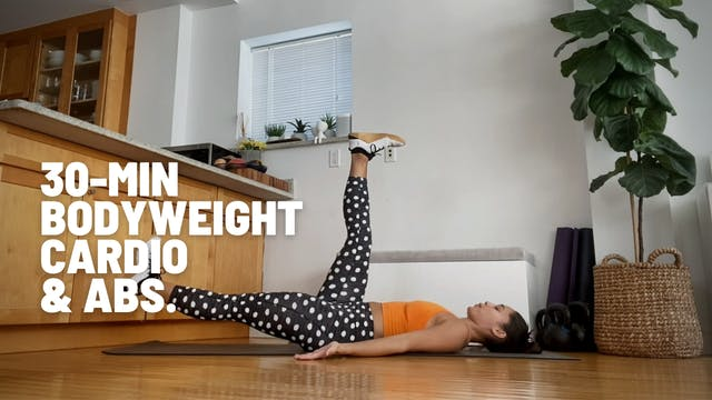 30 MIN BODYWEIGHT CARDIO & ABS 03