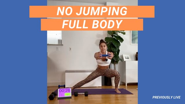 30 MIN NO JUMPING FULL BODY 03