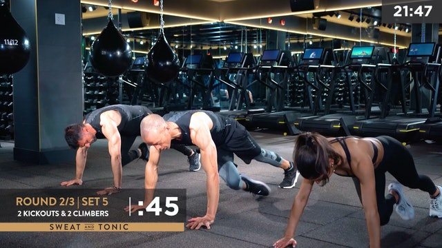3D: Full Body HIIT with George, Nate and Lisa