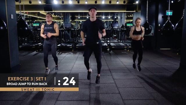 Surge HIIT with Dustin: Class 1