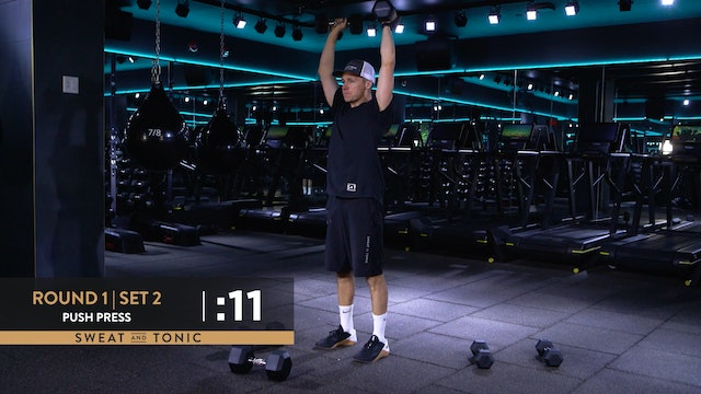 Rock The Bells: Full Body HIIT with Dustin - Class 1
