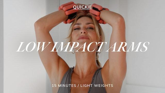 15 MIN LOW IMPACT ARMS 9/13