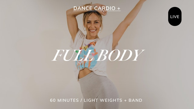 *LIVE* DANCE CARDIO FULL BODY 7/26