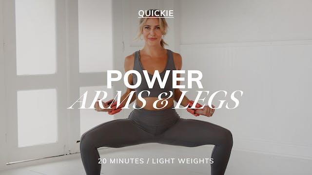 20 MIN POWER ARMS & LEGS 1/23