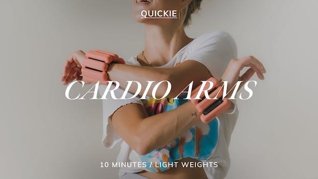 15 MIN CARDIO ARMS