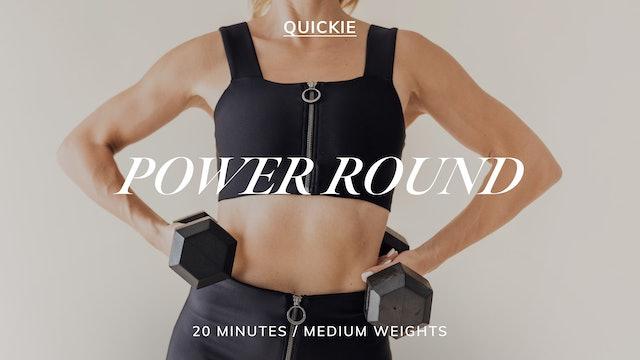 20 MIN POWER ROUND 3/23