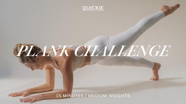 15 MIN PLANK CHALLENGE 2/23