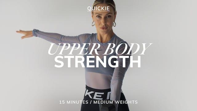 15 MIN UPPER BODY STRENGTH 7/12