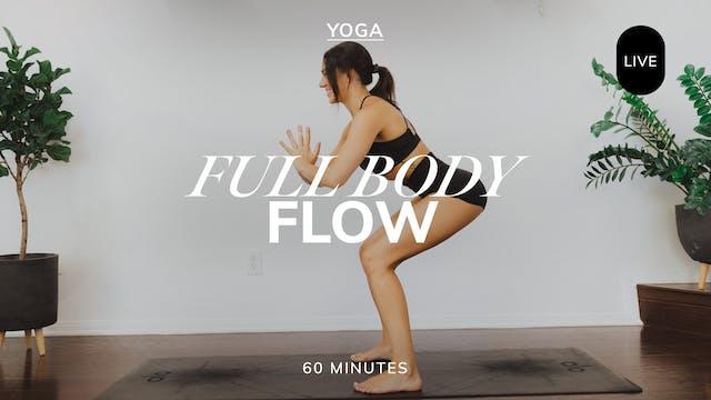 *LIVE* FULL BODY FLOW 8/9