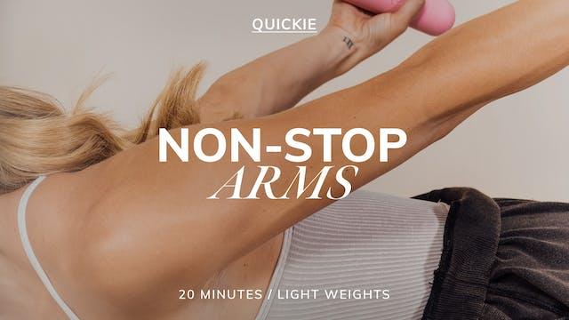 20 MIN NON-STOP ARMS 3/2