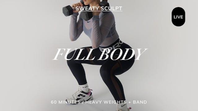 *LIVE* SWEATY SCULPT FULL BODY 8/20